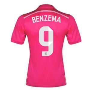 Camiseta nueva del Real Madrid 2014/2015 Equipacion Benzema Segunda
