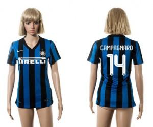 Camiseta de Inter Milan 2015/2016 14 Mujer