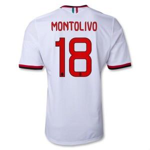 Camiseta de AC Milan 2013/2014 Segunda Montolivo Equipacion
