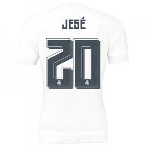 Camiseta Real Madrid Numero 20 JESE Primera Equipacion 2015/2016