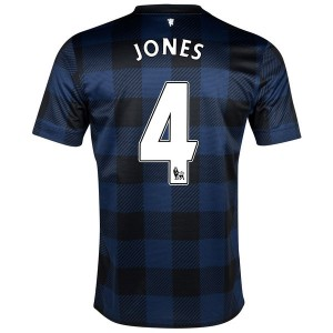 Camiseta nueva del Manchester United 2013/2014 Jones Segunda
