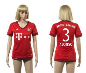 Camiseta nueva Bayern Munich Mujer 3 2015/2016