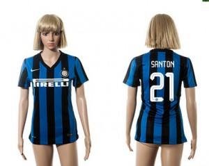 Camiseta de Inter Milan 2015/2016 21 Mujer