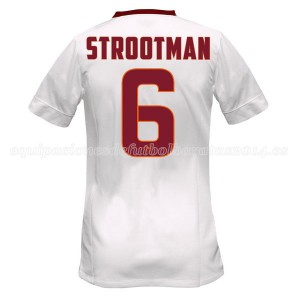 Camiseta nueva AS Roma Strootman Equipacion Segunda 2014/2015