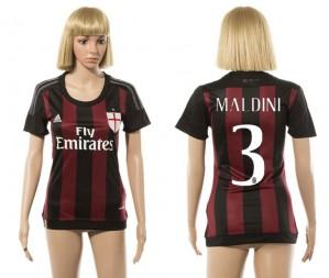 Camiseta AC Milan 3 2015/2016 Mujer