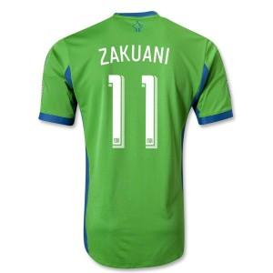 Camiseta nueva del Seattle Sound 2013/2014 Zakuani Tailandia Primera