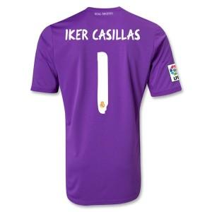 Camiseta Portero de Real Madrid 2013/2014 Primera Iker Casillas