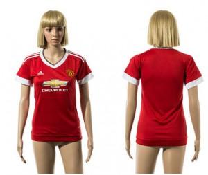 Camiseta nueva Manchester United Mujer 2015/2016