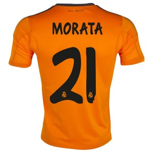 Camiseta Real Madrid Morata Tercera Equipacion 2013/2014