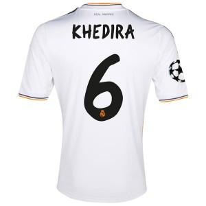 Camiseta nueva del Real Madrid 2013/2014 Equipacion Khedira Primera