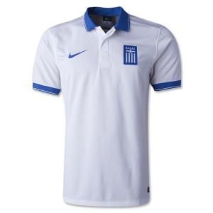 Camiseta del Grecia de la Seleccion Primera 2014