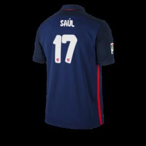 Camiseta Atletico Madrid SAUL Segunda Equipacion 2015/2016