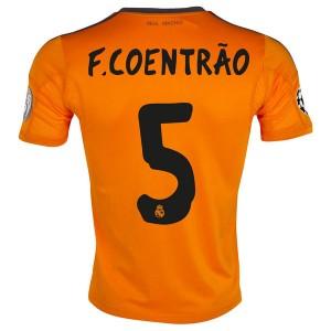 Camiseta nueva del Real Madrid 2013/2014 Equipacion F Coentrao Tercera