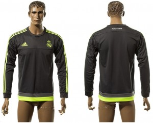 Training Top nueva Real Madrid gray Europe Long Sleeve