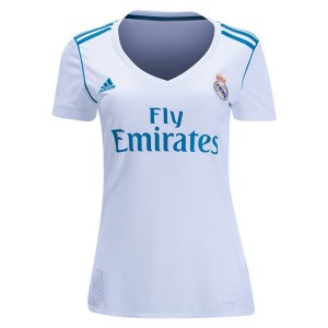 Camiseta Real Madrid Home 2017/2018 Mujer