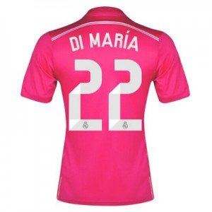 Camiseta de Real Madrid 2014/2015 Segunda Di Maria Equipacion