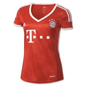 Camiseta nueva del Bayern Munich 2013/2014 Equipacion Mujer Primera