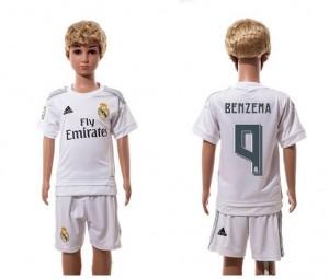 Camiseta nueva Real Madrid Niños 9 Home 2015/2016