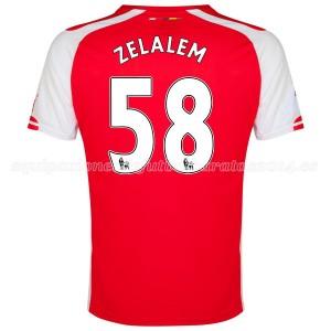 Camiseta de Arsenal 2014/2015 Primera Zelalem Equipacion