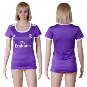 Camiseta nueva Real Madrid Mujer Equipacion Segunda 2016/2017
