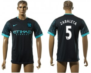 Camiseta nueva Manchester City 5# aaa version Away