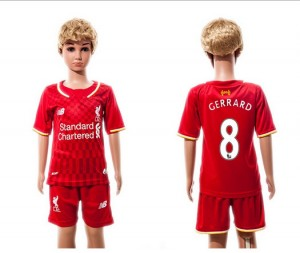 Camiseta nueva Liverpool Niños 8 2015/2016