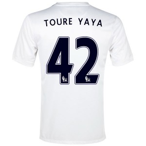 Camiseta Manchester City Yaya Toure Tercera 2013/2014