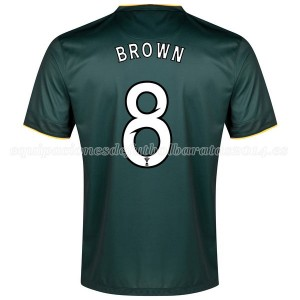 Camiseta Celtic Brown Segunda Equipacion 2014/2015