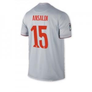 Camiseta del ANSALDI Atletico Madrid Segunda Equipacion 2014/2015