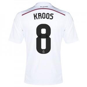 Camiseta nueva Real Madrid Kroos Equipacion Primera 2014/2015