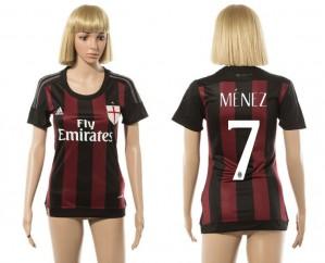 Camiseta nueva del AC Milan 2015/2016 7 Mujer