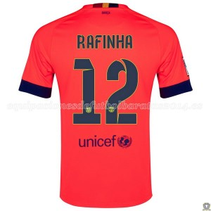 Camiseta de Barcelona 2014/2015 Segunda Rafinha