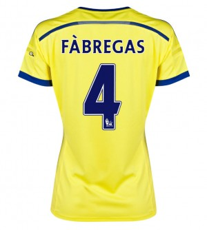 Camiseta de Chelsea 2013/2014 Primera David Luiz Equipacion