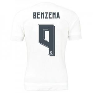 Camiseta nueva del Real Madrid 2015/2016 Equipacion Numero 09 BENZ Primera
