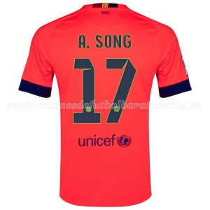 Camiseta Barcelona A.Song Segunda 2014/2015