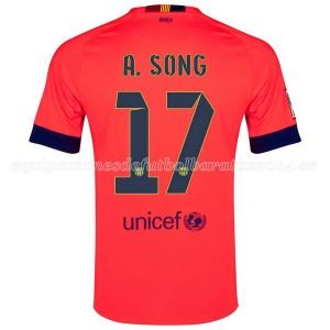 Camiseta Barcelona A.Song Segunda 2014/2015