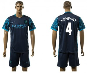 Camiseta del 4# Manchester City Away