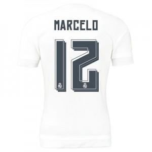 Camiseta del Numero 12 MARC Real Madrid Primera Equipacion 2015/2016