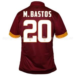 Camiseta AS Roma M.Bastos Primera Equipacion 2014/2015