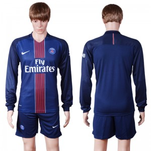 Camiseta nueva Paris Saint Germain Manga Larga Primera 2016/2017