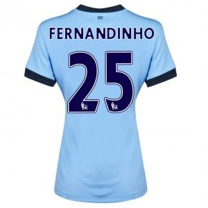 Camiseta nueva del Manchester City 2014/2015 Fernando.R Segunda