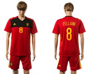 Camiseta Belgium 8# 2015-2016