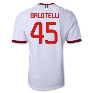 Camiseta de AC Milan 2013/2014 Segunda Balotelli Equipacion