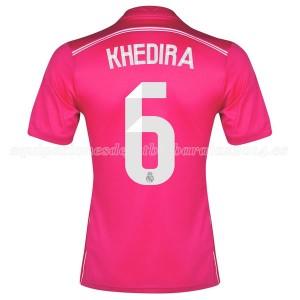 Camiseta Real Madrid Khedira Segunda Equipacion 2014/2015