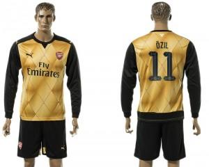 Camiseta del UEFA Champions League 11 Arsenal Away Long Sleeve