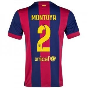 Camiseta nueva del Barcelona 2014/2015 Equipacion MONTOYA Primera