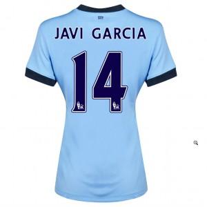 Camiseta nueva del Manchester City 2014/2015 Fernandinho Primera