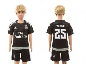 Camiseta nueva Real Madrid Niños goalkeeper 25 2015/2016