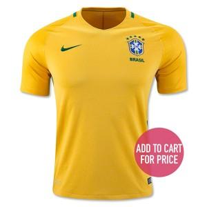 Camiseta Brasil Primera Equipacion 2016