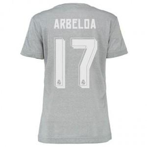 Camiseta de Real Madrid 2015/2016 Segunda ARBELOA Equipacion Mujer